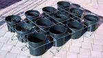 Griglia fermavasi zincata elettrosaldata regolare-simmetrica
